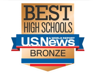 Best high schools bronze metal from U.S. News