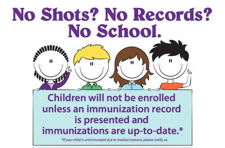 NYS Dept. of Health Immunization Requirement for School Attendance